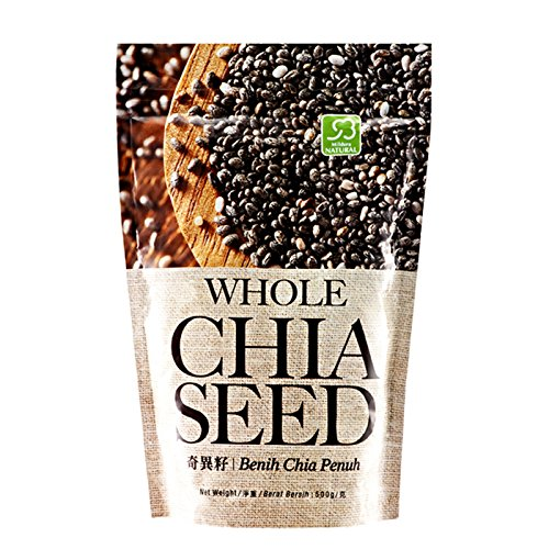 MUST BUY ! 1 Pack COSWAY Mildura Natural Whole Chia Seed ( 500g Per Pack ) by Cosway (Image #1)