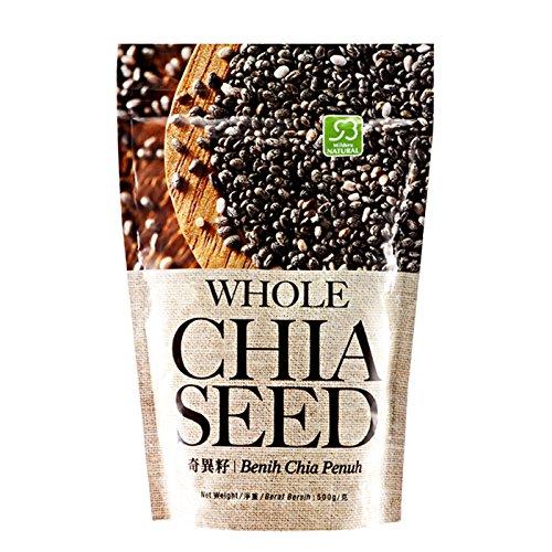 MUST BUY ! 1 Pack COSWAY Mildura Natural Whole Chia Seed ( 500g Per Pack )