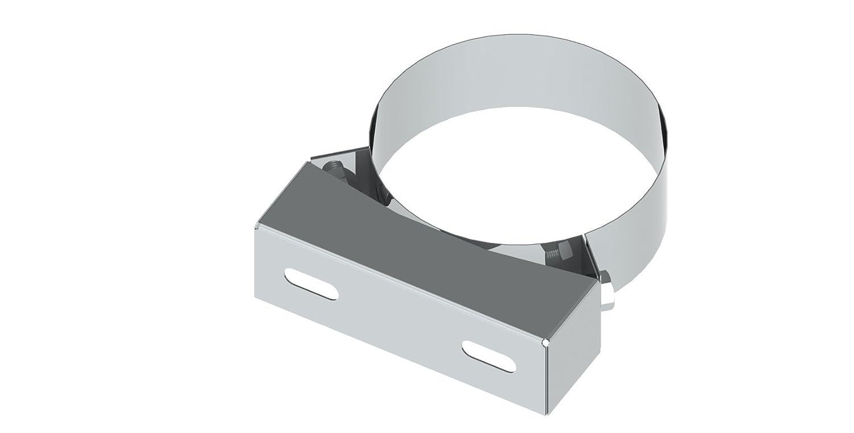 Edelstahl Wandabstandshalter verstellbar 250-360mm f/ür doppelwandige Schornsteine DW; /Ø 150mm Innendurchmesser