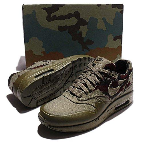 Nike Mens Air Max 1 France Sp, Moyen Olive / Foncé Vert Armée