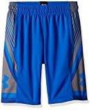 under armour clothing for boys - Under Armour Kids Boy's Space The Floor Shorts (Big Kids) Ultra Blue/Graphite/Ultra Blue Medium