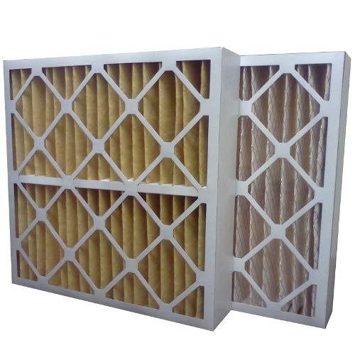 "US Home Filter SC60-24X24X4 24x24x4 Merv 11 Pleated Air Filter (3-Pack), 24"" x 24"" x 4"""