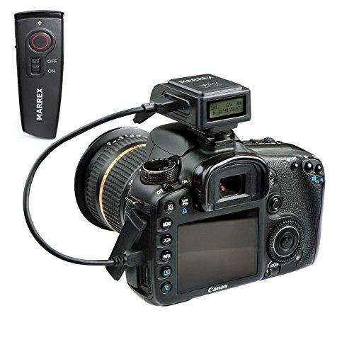 Marrex Geotagging GPS Receiver & Wireless Shutter Remote Combo for Canon EOS DSLR Cameras Including 1D X, 1D C, 5D MK III, 6D, 70D, 80D, Rebel SL1, T4i, T5, T5i, T6i, T6s ()