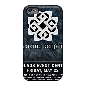 Iphone 6 ItQ13000GBfI Provide Private Custom Lifelike Breaking Benjamin Band Pictures Shockproof Hard Phone Case -JamieBratt