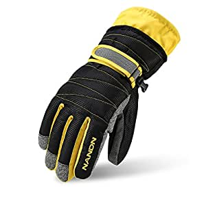 Amazon.com : Skiing Gloves Men Women Kids 5 Sizes