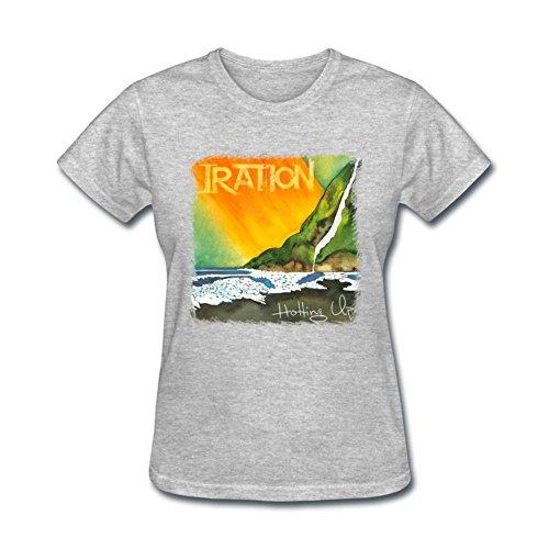 TYMLLER Women's Iration Hotting Up T-shirt Size M Grey