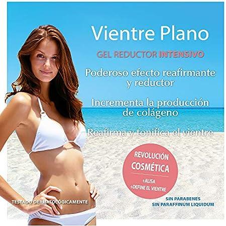 YACEL VIENTRE PLANO | Gel Reductor Intensivo | Alisa y Define el Vientre | 200 ml.