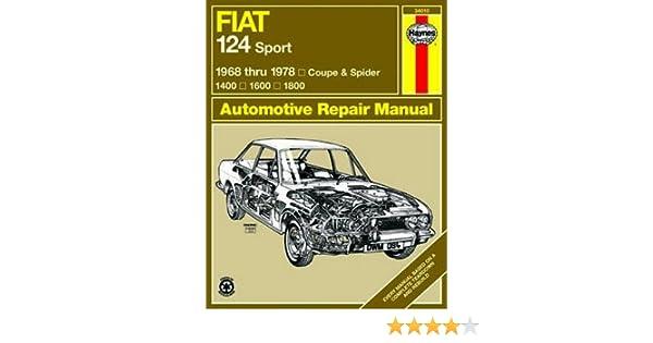 Amazon.com: Fiat 124 Sport Coupe & Spider Haynes Repair Manual (1968 - 1978): Automotive