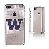 Keyscaper NCAA Washington Huskies KCLR7X-0WAS-DOTS01 Apple iPhone Clear Case, iPhone 8 Plus/7 Plus/6 Plus, Clear