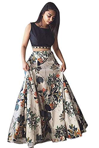 bd3143f706 janvi Fashion Women's Bangalori Sartin Lehenga Choli (White, Free Size):  Amazon.in: Clothing & Accessories