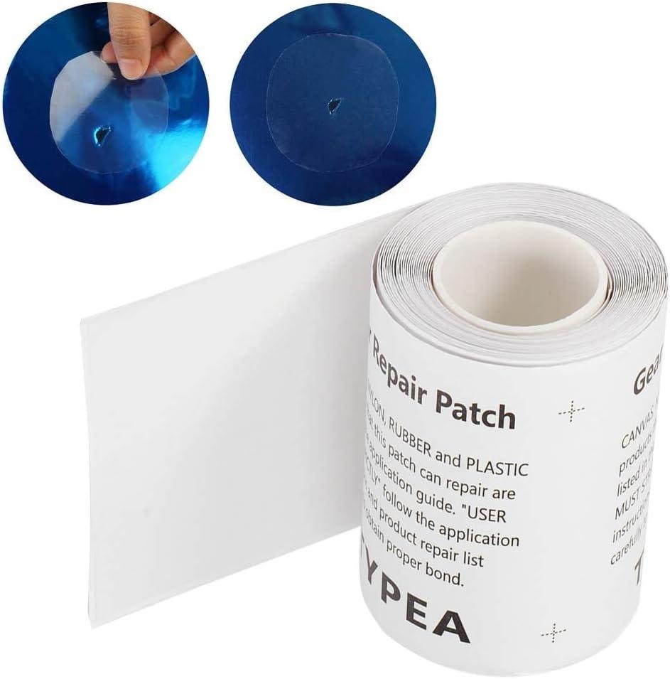 para bote inflable resistente y resistente sof/á inflable parche de reparaci/ón impermeable cama de aire Parche de reparaci/ón de TPU de larga duraci/ón trampol/ín