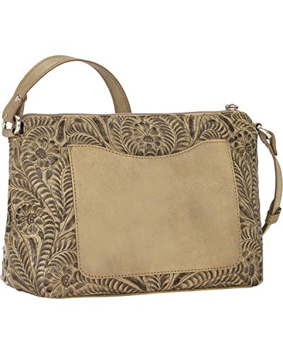 West American Sand Bag Canyon Crossbody 1615258 Dove Women's Un74An6