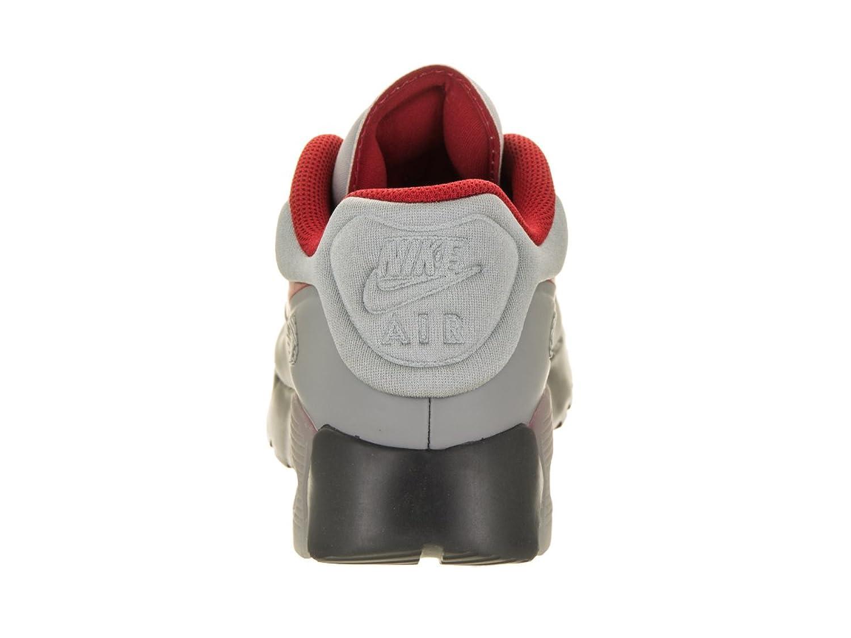 Nike Kvinners Air Max 90 Trenere I Svart Rødt Og Antrasitt Hjul vFuhqUXIG