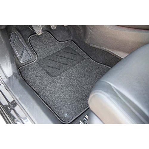 Gamme One Sur Mesure Tapis de sol pour Voiture 4 Pi/èces DBS 1765729 Tapis Auto Moquette noir 600g//m/²