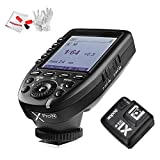 Godox Xpro-N 2.4G TTL Wireless Flash Trigger Transmitter with X1R-N Receiver or Nikon 1/8000s HSS TTL-Convert-Manual Function with Pergear Cleaning Kit