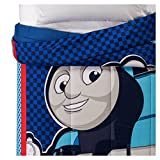 Thomas & Friends Thomas the Tank Engine Blue & Red Comforter (Twin)