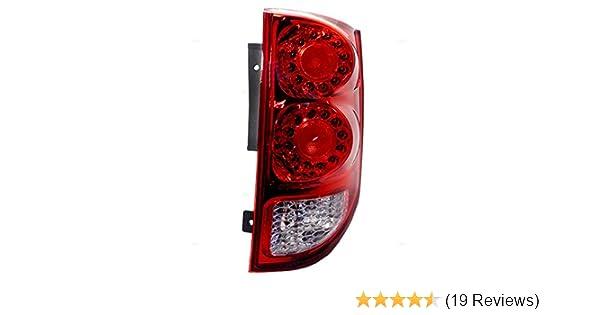 Brake Light Lens Repair Tape for Hyundai ix20 Red Rear Tail Lamp Fix