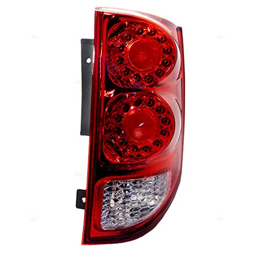 Passengers Taillight Tail Lamp Replacement for 11-18 Dodge Grand Caravan Van 5182534AD