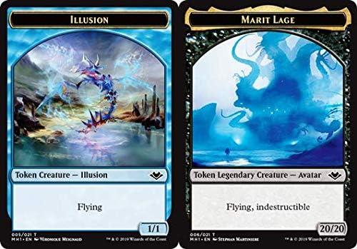 MTG Marit Lage Token NM//M Magic the Gathering