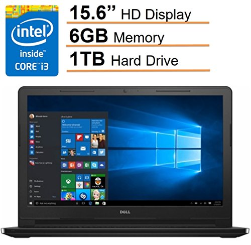 Pc Inspiron Laptop Notebook Computers (2017 Newest Dell Inspiron 15.6'' HD LED Display Premium Laptop PC , Intel i3-5005U 2.0GHz CPU, 6GB RAM, 1TB HDD, Intel HD Graphics 5500, Bluetooth, HDMI, MaxxAudio, DVD +/- RW,)