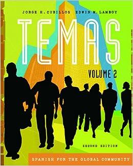 2: Temas: Spanish for the Global Community, Volume II (with Audio CD)