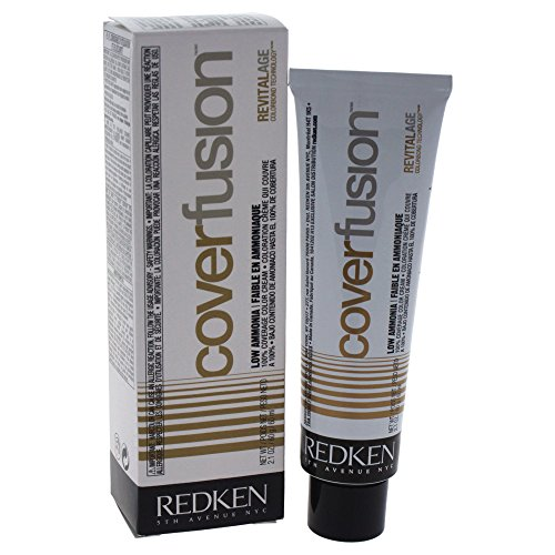 Redken Cover Fusion Low Ammonia - # 4na Natural Ash By Redken for Unisex - 2.1 Ounce Hair Color, 2.1 Ounce