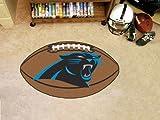 """Fan Mats Carolina Panthers Football Rug, 22"""" x 35"""""""