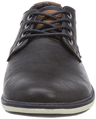 Homme Marine Bleu Sneakers 820 Mustang 820 navy Basses 4111 302 qYU0Xp