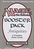 Magic The Gathering Card Game - Antiquities Booster Pack - 8 cards
