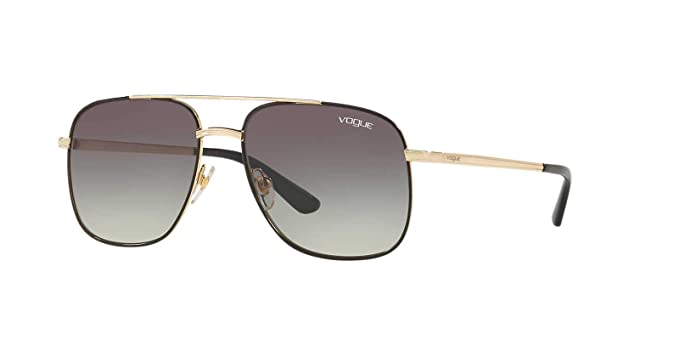 Vogue 0VO4083S Gafas de sol, Pale Gold/Black, 55 para Mujer ...