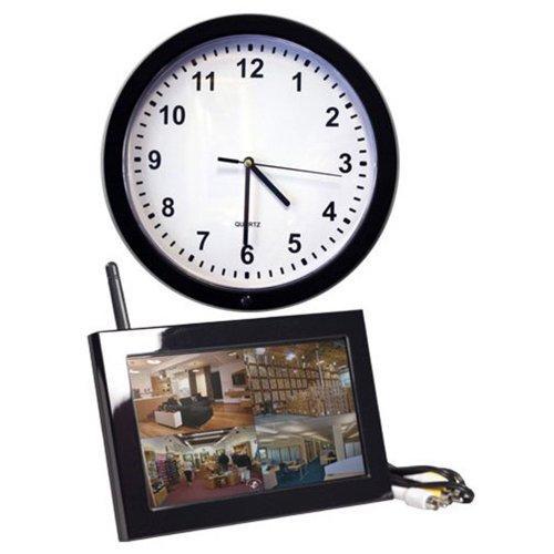 SleuthGear Wall Clock QUAD