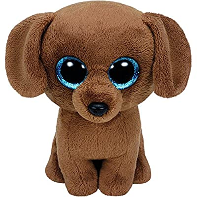 TY Beanie Boo Plush - Dougie the Dog 15cm: Toys & Games