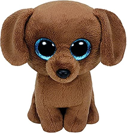 ece609b0d7a Amazon.com  TY Beanie Boo Plush - Dougie the Dog 15cm  Toys   Games