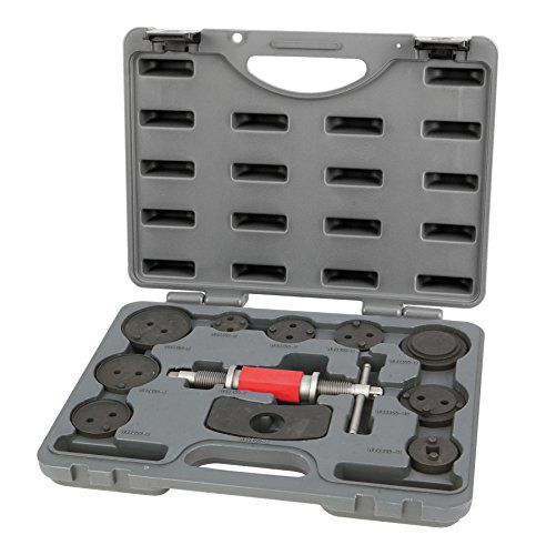 Performance Tool W89200 Brake Caliper Wind Back Tool service Set for Disk Brake Pad Replacement (Brake Pads Service)