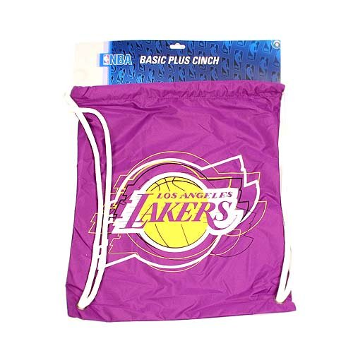 Los Angeles Lakers NBA Drawstring Cinch Bag Backpack by NBA