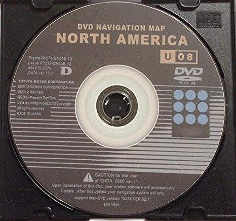 Amazon.com: 2002-2006 Toyota Avalon Latest Navigation Map GPS Update on