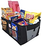 Car Trunk Organizer by Busy Life - Best Trunk Organizer For Car SUV Truck and Van - SUV Trunk Organizer Does Not Slid Around - Must Have Collapsible Trunk Organizer for any Vehicle