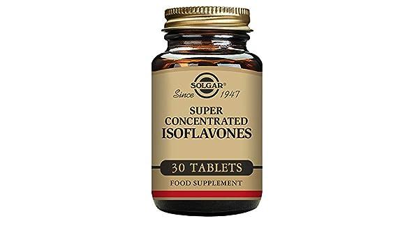 Solgar Super Concentrado de Isoflavonas Comprimidos - Envase de 30: Amazon.es: Salud y cuidado personal