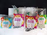 MCDONALD HAPPY MEAL DISNEY INSPECTOR GADGET INCOMPLETED Set-4 items, 1999