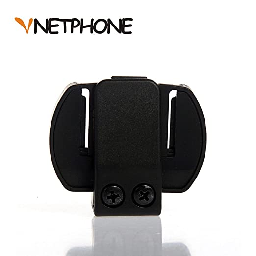 5 opinioni per VNETPHONE® Staffa di Montaggio Clip per Moto Casco Bluetooth Intercom Interfono