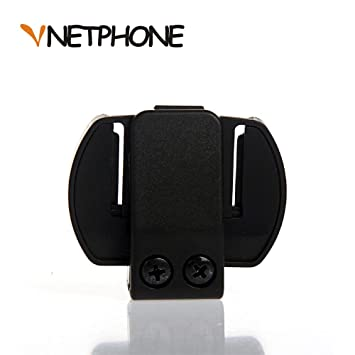 VNETPHONE® Soporte Montaje para Moto Casco Bluetooth intercomunicador Interphone Auriculares V6 V4