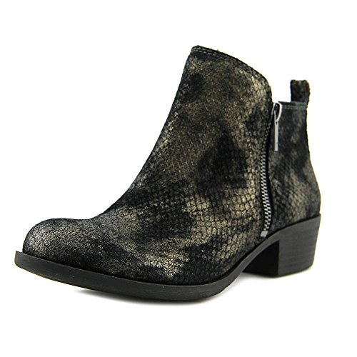 Lucky Brand Basel Women US 7 W Black Ankle Boot