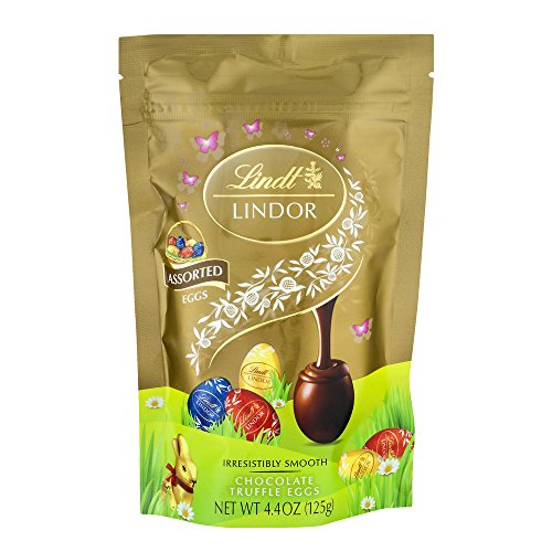 Lindt Lindor Kosher Mini Egg Truffles Assorted Chocolate, 4.