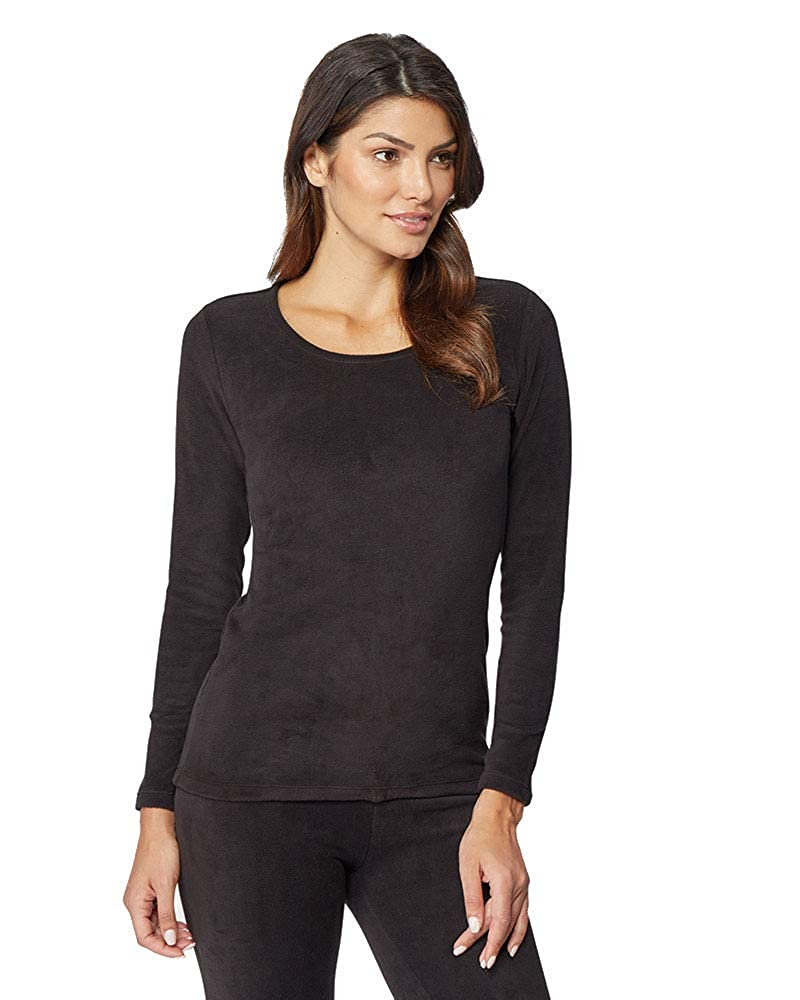 32 DEGREES Womens Heavyweight Fleece Baselayer Crew Top