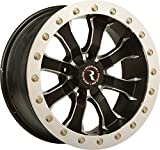 Raceline RT-Mamba Beadlock 12 Black Wheel / Rim 4x110 with a 25mm Offset and a Hub Bore. Partnumber A7127011-52
