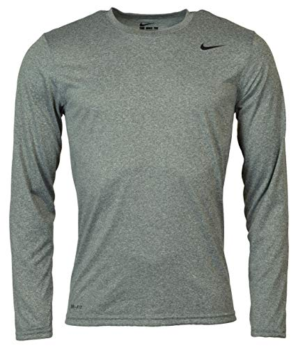 Nike Mens Longsleeve Legend - Grey - - Legend Dri Fit
