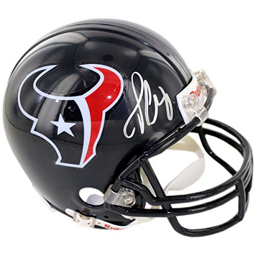 NFL Houston Texans Jadeveon Clowney Signed Mini Helmet by Steiner Sports
