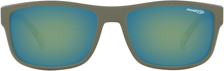 ARNETTE mens An4258 Lastarria Rectangular Sunglasses Rectangular Sunglasses