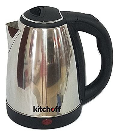 Kitchoff Kl-4 1.8-Litre Automatic Electric Kettle (Silver)