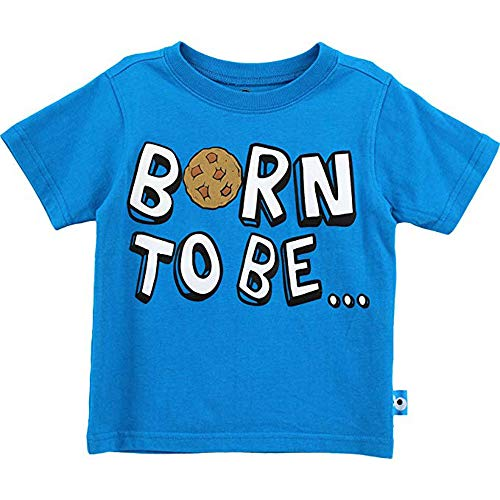 Cookie Monster Baby Boys' Infant Born to Be Hungry T-Shirt (18 Months) -